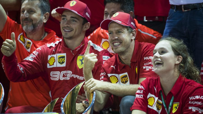 Rosberg expects 'fireworks' between Leclerc and Vettel after Singapore