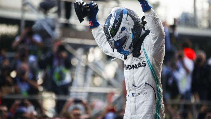 VIDEO: Bottas' record pole lap in Barcelona