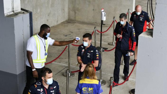 Op Sergio Perez na geen nieuwe besmettingen in F1-wereld ontdekt