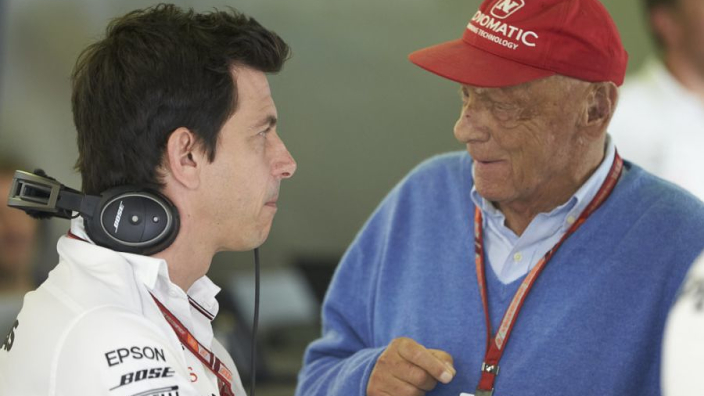 Wolff wants Lauda return 'as soon as possible'