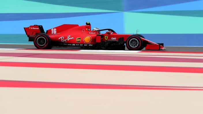 Leclerc concedes Ferrari Bahrain pace is below expectations