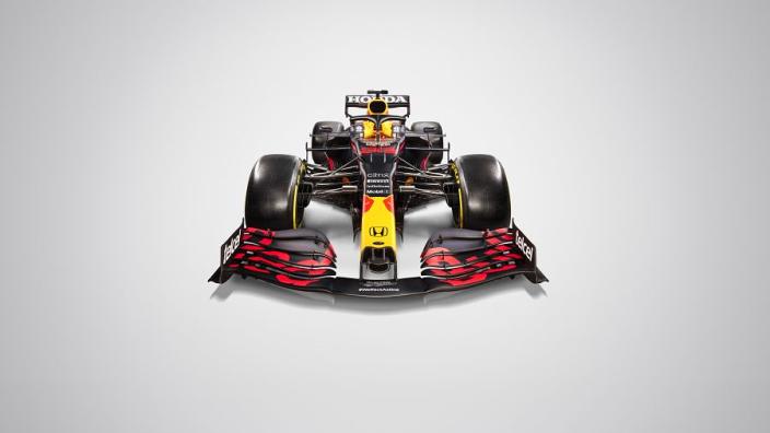 In beeld: Maak kennis met de nieuwe F1-wagen van Verstappen en Perez