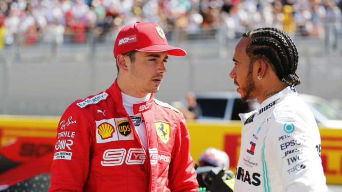 Leclerc: I'm more like Hamilton than Vettel