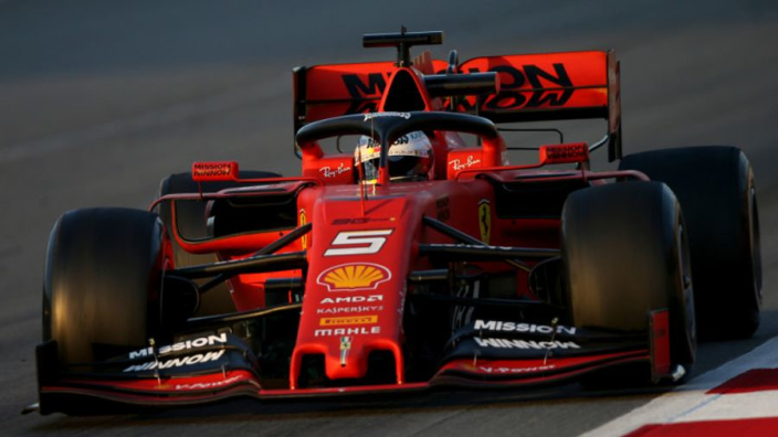 Rivals react to Ferrari pace