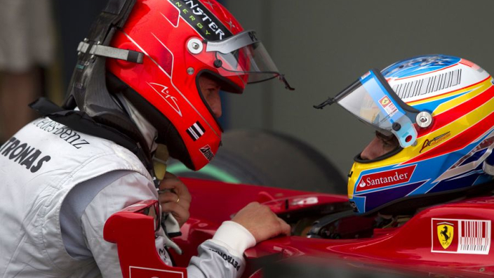 """Alonso racecraft """"mind-blowing"""" after being compared to Michael Schumacher"""