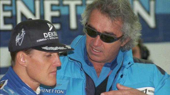 Schumacher almost wasn't signed, reveals Briatore