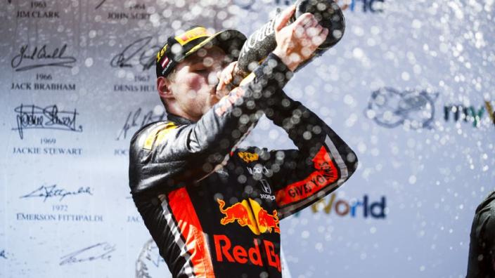 """Verstappen: """"Zege Oostenrijk naar Leclerc? Helemaal prima"""""""
