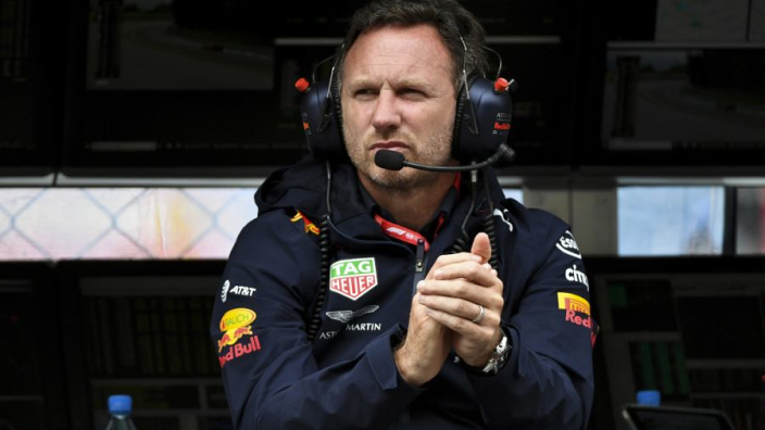 """Horner terughoudend: """"Vier van de vijf keer eindigde Mercedes vóór ons"""""""