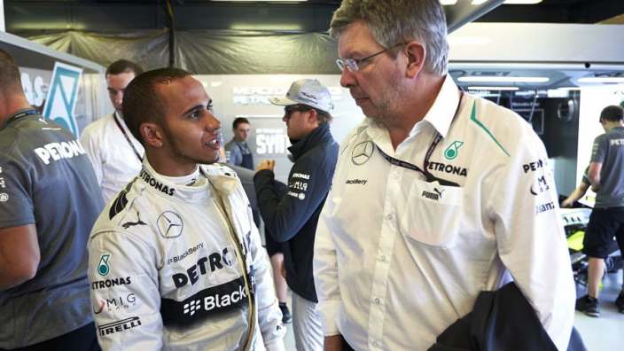 Brawn admits he initially doubted Hamilton's professionalism