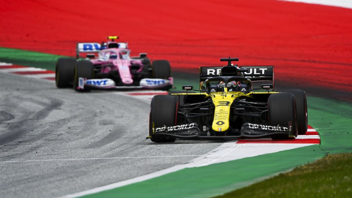 Renault lodge protest against Racing Point RP20 design