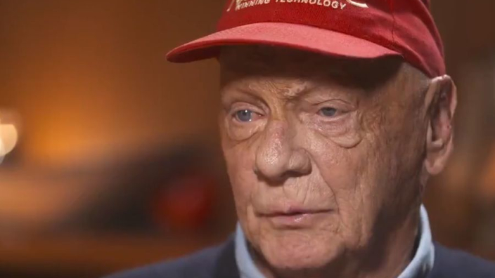 VIDEO: Lauda talks about his recovery from crash that almost killed him