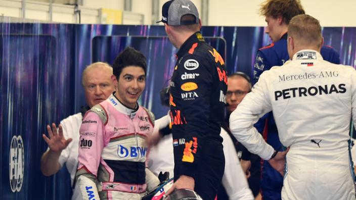 Ocon over Verstappen: 'Spanningen, maar ook respect'