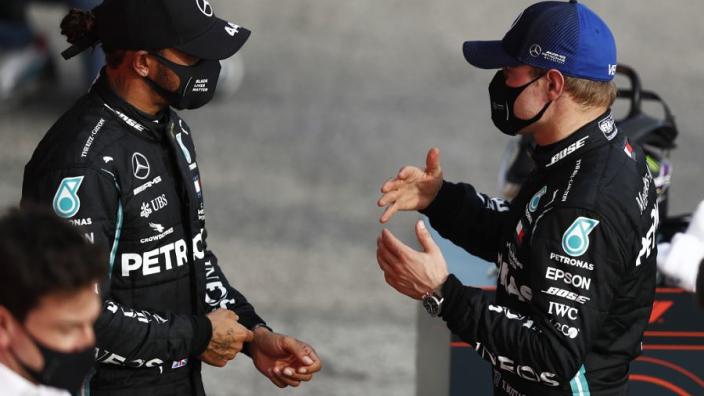 Bottas weigert 'Rosberg-methode' toe te passen op Lewis Hamilton