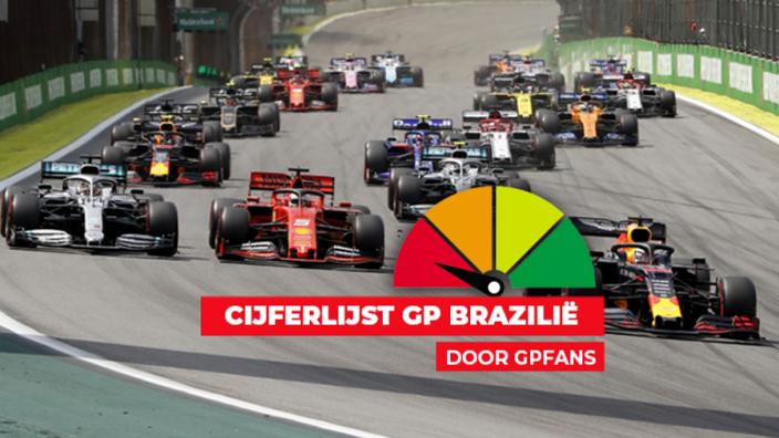 Cijferlijst Brazilië: Verstappen en (oude) teamgenoten op eenzame hoogte
