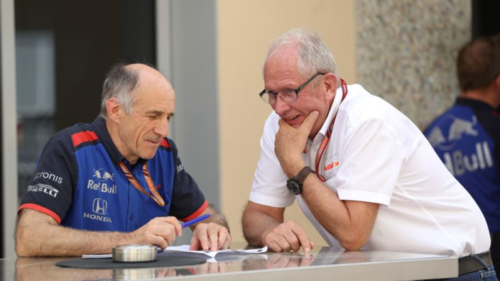 Budget cap allows Red Bull to have 'two equal teams' - Brown