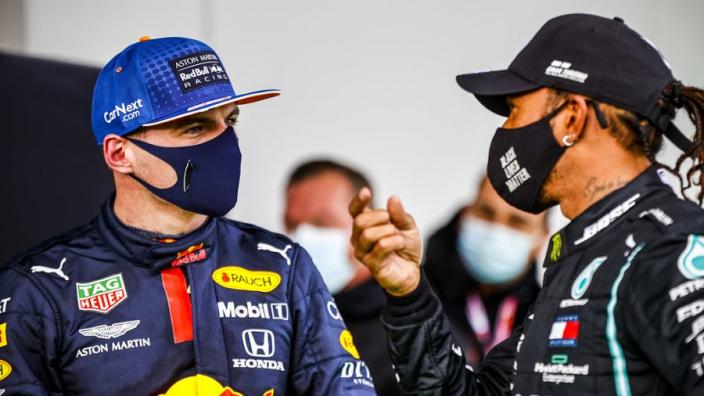 """Hamilton onder de indruk van Verstappen: """"Een geweldig talent"""""""