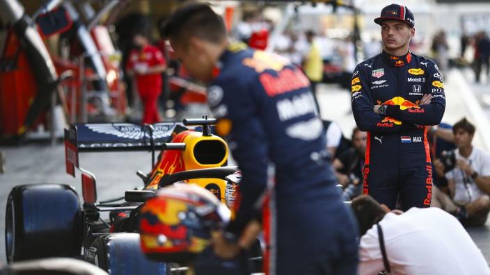 """Verstappen tevreden over kwalificatie: """"Maar had het liever zelf gedaan"""""""