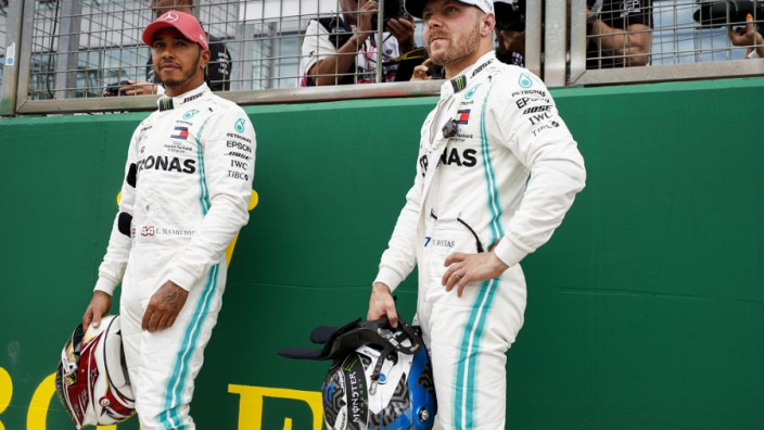 VIDEO: Hamilton and Bottas assess Mercedes cars of the past!