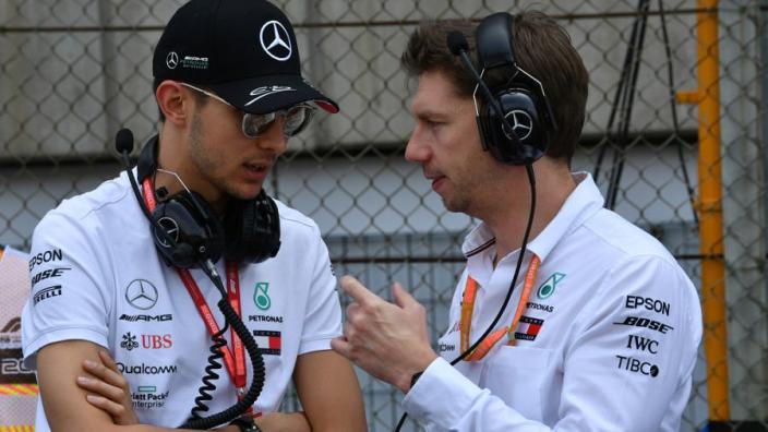 """Ocon: """"Ik was heel dichtbij stoeltje naast Lewis Hamilton in 2020"""""""