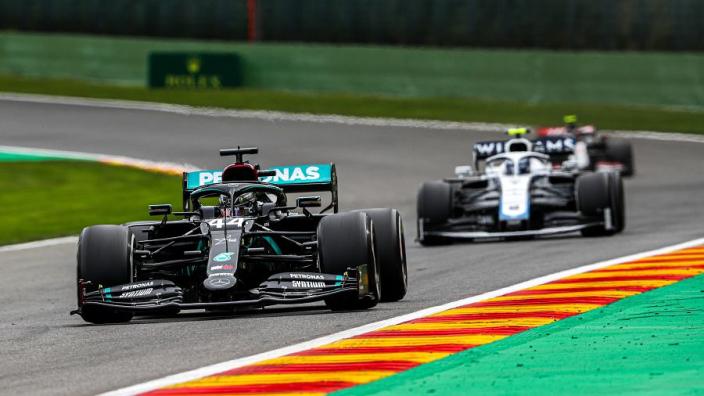 """Mercedes has """"got some work to do"""" says Hamilton"""