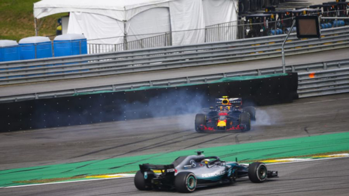 Verstappen loses Brazil win to Hamilton after Ocon crash