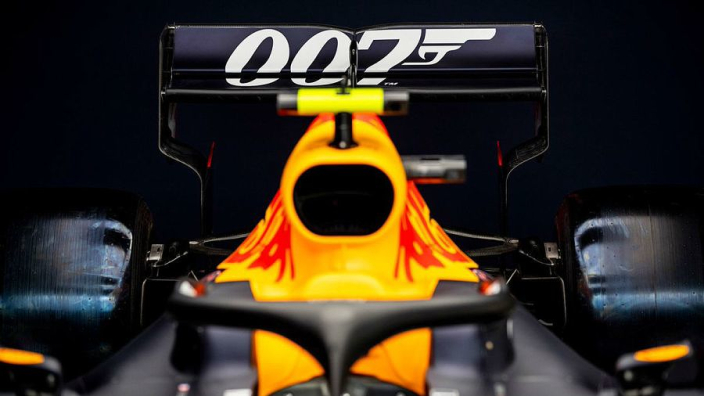 Red Bull to run James Bond livery at Silverstone