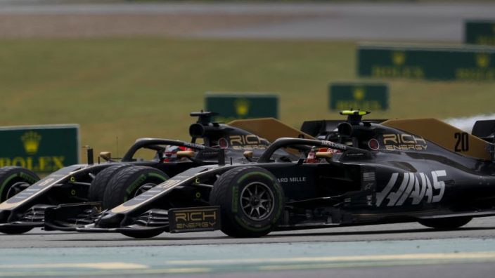 Grosjean reveals 'f*** off' mindset during Magnussen collisions