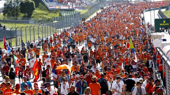 Formula 1 'won't rush' the return of spectators