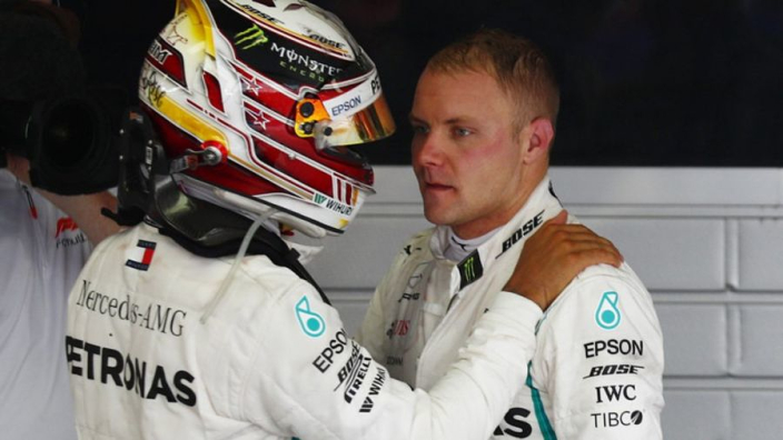 VIDEO: Bottas shows what he thinks of Mercedes team orders