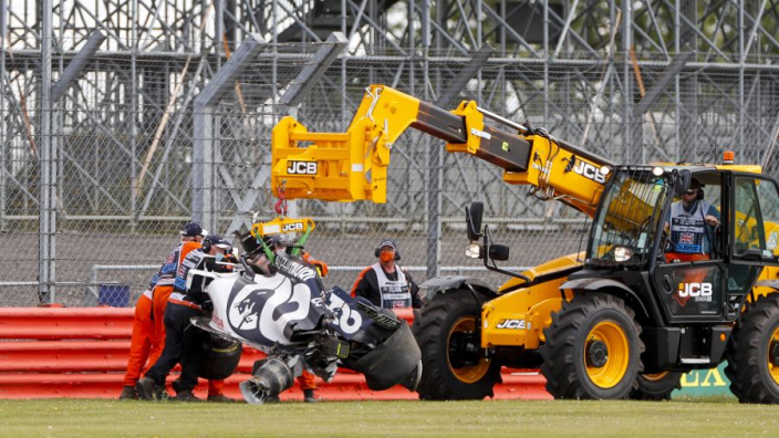 Pirelli not at fault for Kvyat British GP smash