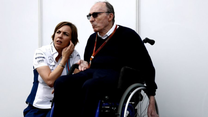 Sir Frank Williams 'loved' new team livery at first unveiling