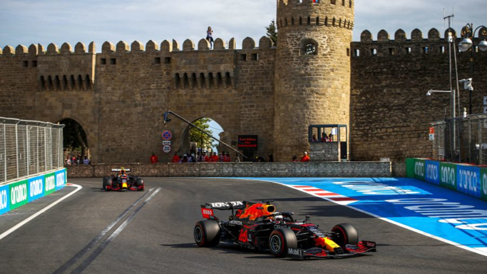 """Verstappen hails Perez for showing """"how it should be done"""" in F1 title fight with Mercedes"""