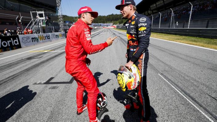 Leclerc: Verstappen overtake was not fair
