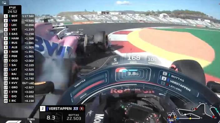 "Verstappen woest op Stroll na crash: ""WTF is er mis met hem!?"""