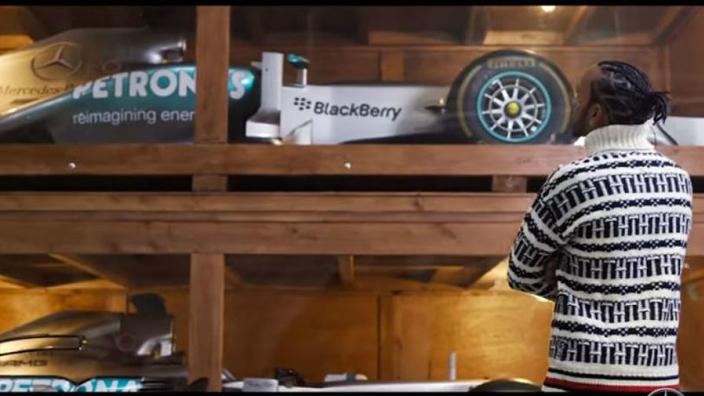 VIDEO: Lewis Hamilton rates his title-winning cars