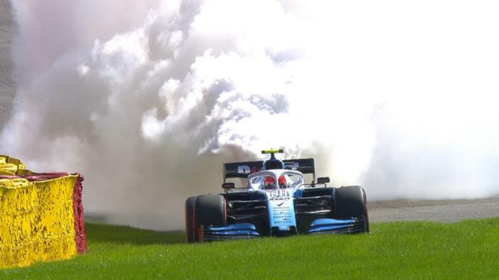 Kubica, Giovinazzi, Sainz take further penalties at Spa