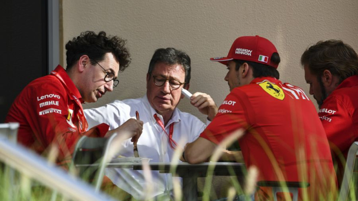"Binotto safe as CEO stops ""revolving-door atmosphere"" at Ferrari"