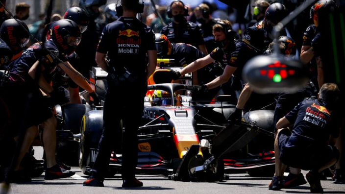 Red Bull Racing leverde snelste pitstop af tijdens Grand Prix Frankrijk