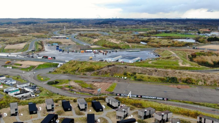 Dutch GP: Zandvoort changes revealed by drone footage