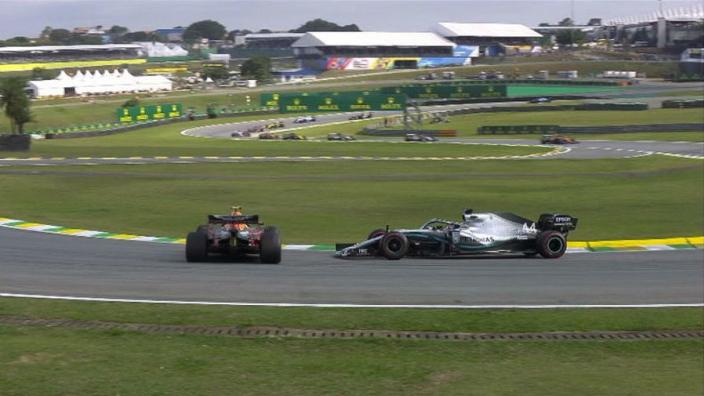 Hamilton stripped of Brazil podium after Albon crash