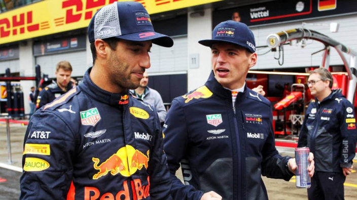 Verstappen says Ricciardo will miss Red Bull