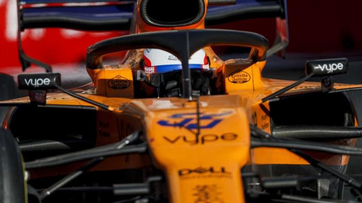 """Sainz pakt prima P7 in Baku: """"Was een zeer sterke race"""""""