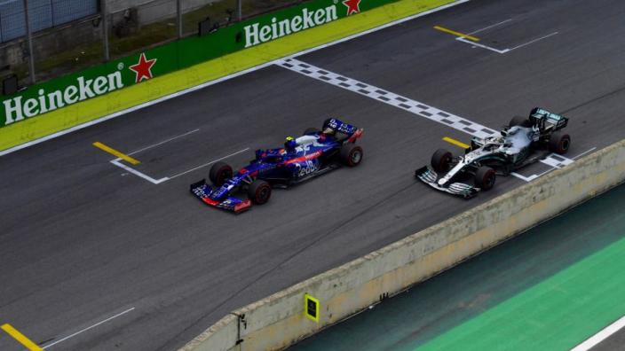 """Hamilton zeer te spreken over Honda: """"Geweldig voor de sport"""""""