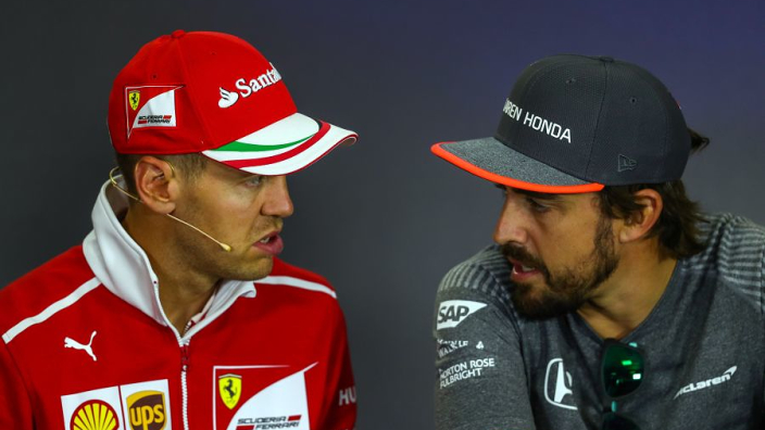 """Alonso and Vettel went from """"big love"""" to """"burnout"""" at Ferrari - Wurz"""