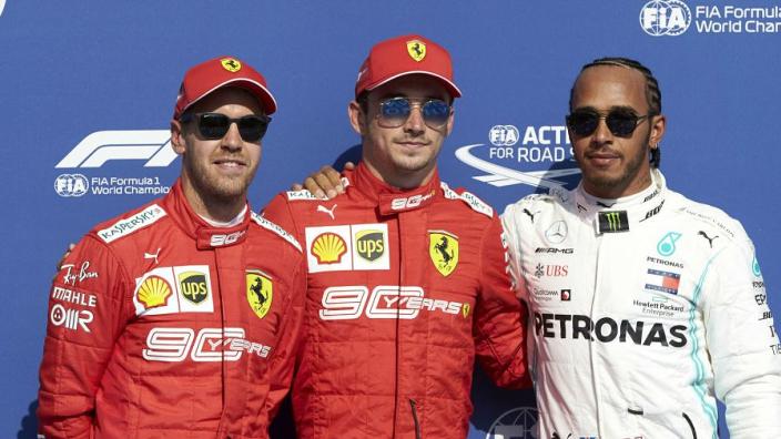 Hamilton refuses to rule out Ferrari move