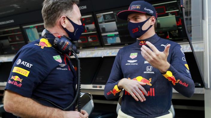 """Verstappen en Horner verbaasd over track limits: """"Steeds onderwerp van gesprek"""""""