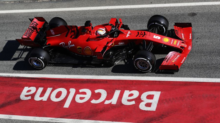 2020 Ferrari 'faster in the corners and slower on the straights'