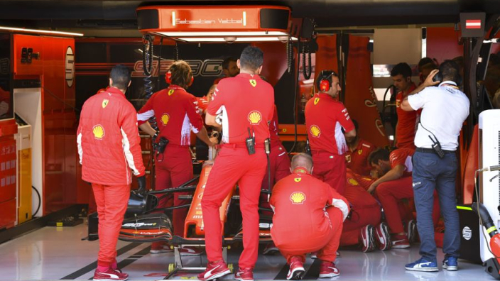 Vettel: Car damage in Q3 was nobody's fault