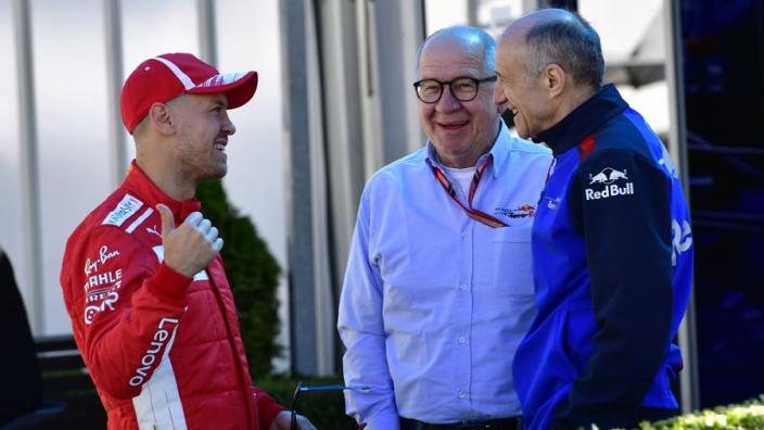 'Vettel opnieuw in verband gebracht met overstap naar AlphaTauri'