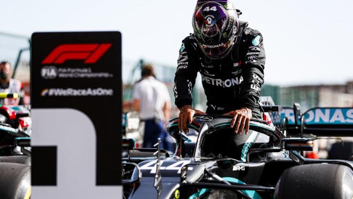 Waarom Hamilton geen officiële pole position en award krijgt na kwalificatie op Silverstone